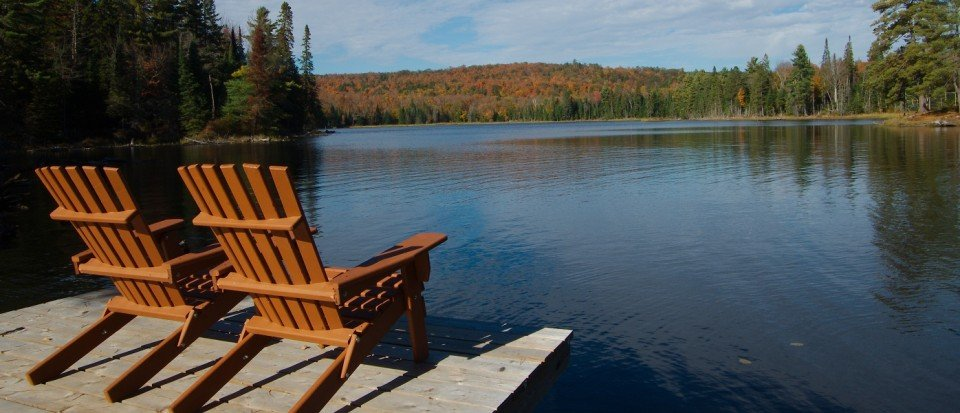 Private Lake in Algonquin Park