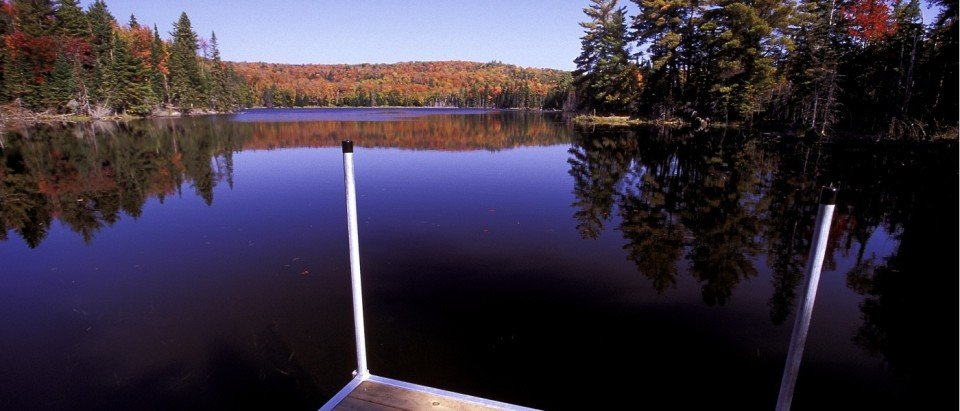 Moffat Pond in Algonquin Park