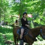 Horseback Riding in Algonquin Park