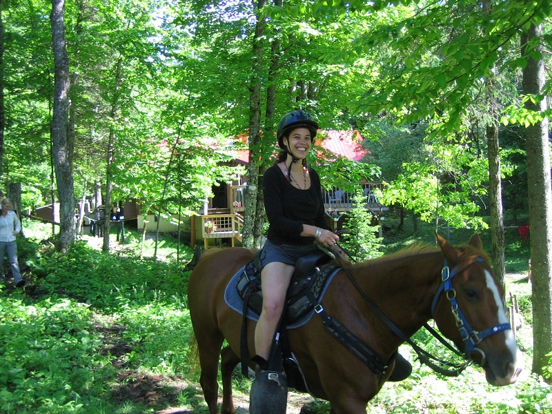 Horseback Riding in Algonquin Park