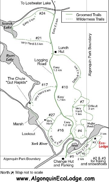 Eco-Lodge Ski Trails