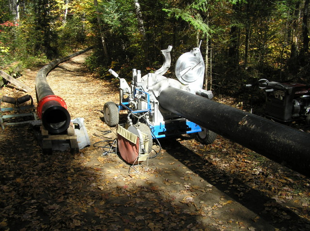 Fusing the micro-hydro pipes