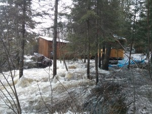 Flood at the Eco-Lodge