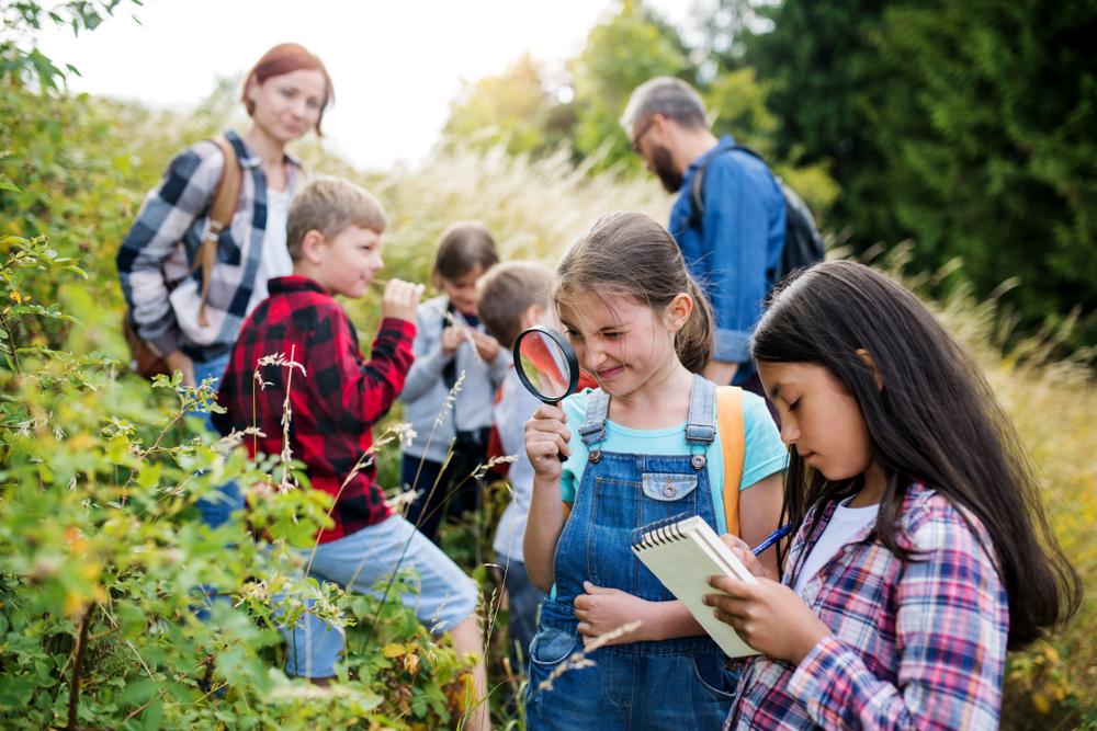 Photo of Kids Hiking During a Field Trip Near Toronto