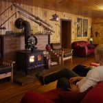 An interior view of our Algonquin lodge.